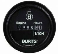 DURITE 52mm ENGINE HOUR COUNTER<br>12 - 80 vdc    0-523-08